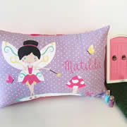 .Personalised Cushion for kids - Fairy Design