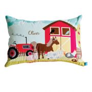 .Personalised Cushion for kids - Farmhouse Design