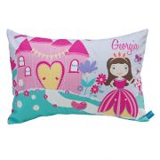 .Personalised Cushion for kids - Pink Perfectly Princess Design