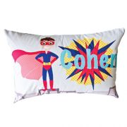 .Personalised Cushion for kids - Superhero Design