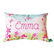.Personalised Cushion for kids - Summer Garden Design