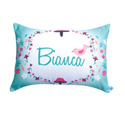 .Personalised Cushion for kids - Lovely Toadstool Design