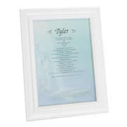 First Name History Blue Marine - Personalised Frame