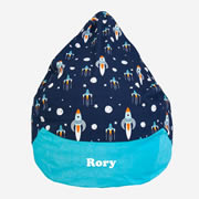 Bean Bag Oversized for Kids - Personalised - Rocket