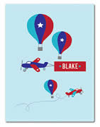 Fleece Blanket Personalised for Kids - Blake