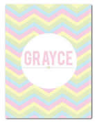 Fleece Blanket Personalised for Kids - Grayce
