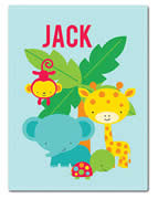 Fleece Blanket Personalised for Kids - Jack
