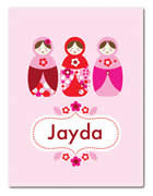 Fleece Blanket Personalised for Kids - Jayda