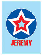 Fleece Blanket Personalised for Kids - Jeremy