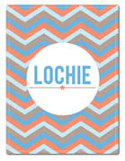 Fleece Blanket Personalised for Kids - Lochie