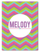 Fleece Blanket Personalised for Kids - Melody