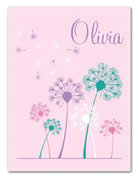 Fleece Blanket Personalised for Kids - Olivia