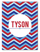 Fleece Blanket Personalised for Kids - Tyson