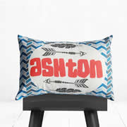 .Personalised Cushion for kids - Arrow