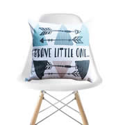 .Personalised Cushion for kids - Brave Little One Design