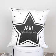 .Personalised Cushion for kids - Boys- Youre my star - available in range of colours