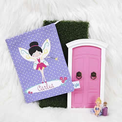 Tooth Fairy Bag Personalised for Kids - Girls Purple Fairy