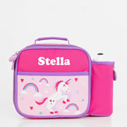 Pre School Lunch Bag / Lunchbox Personalised - Unicorn