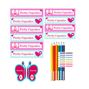 .Personalised School Labels MIX and MATCH PACK Large - Label Pack 138 Labels free shipping