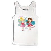 Fairy Best Friends - Singlet Personalised for Kids
