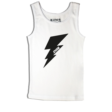 Lightening Bolt - Singlet Personalised for Kids