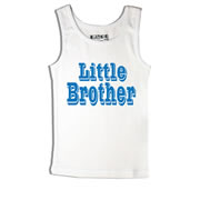 Little Brother - Singlet Personalised for Kids