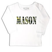 Personalised clothing for kids - Camo - T-Shirt Personalised for Kids