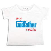 Personalised clothing for kids - Godfather Rocks - T-Shirt Personalised for Kids