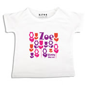 Personalised clothing for kids - Just Blooming - T-Shirt Personalised for Kids