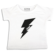 Personalised clothing for kids - Lightening Bolt - T-Shirt Personalised for Kids