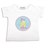 Personalised clothing for kids - Mermaid - T-Shirt Personalised for Kids