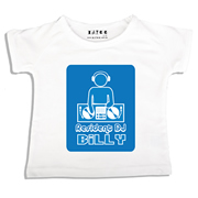 Personalised clothing for kids - Mr Dj 24-7 Blue - T-Shirt Personalised for Kids
