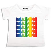 Personalised clothing for kids - Rainbow Gradient V2 - T-Shirt Personalised for Kids