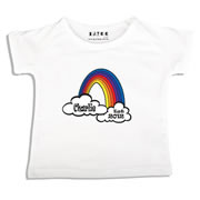 Personalised clothing for kids - Rainbow - T-Shirt Personalised for Kids