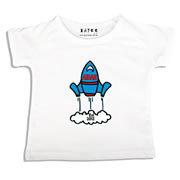 Personalised clothing for kids - Rocket - T-Shirt Personalised for Kids