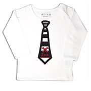 Personalised clothing for kids - Skulls Tie - T-Shirt Personalised for Kids