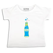 Personalised clothing for kids - Soda Blue - T-Shirt Personalised for Kids