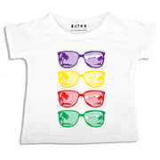Personalised clothing for kids - Sunnies - T-Shirt Personalised for Kids