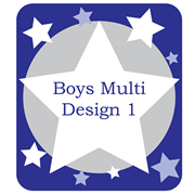 Personalised School Labels Boys Multi - Shoe Labels 15 pairs free shipping