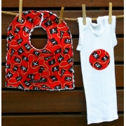 Bib & Singlet Set - Pirate