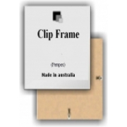 Frame Only (Clip Frame)Sized to suit our designs