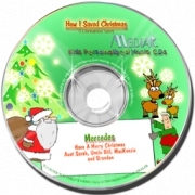 Personalised CD  How I Saved Christmas