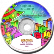 Personalised Music CD  Christmas is Coming