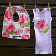 Bib & Singlet Set - Waterlily