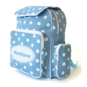 Backpack Personalised - Baby Blue