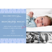 Christening Invitation 'Boy 3'