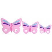 Wall Motif Set - Butterflies - PinkPainted
