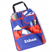 Car Organiser Personalised - Boys Blue