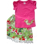 Christmas Clothing Girls Set - Little BirdieSize 4Last one left!