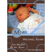 Christening Invitation 'Latte'